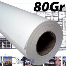 """ColorPrint Papier Draft 80gr 0,610 (24"""") x 50m"""