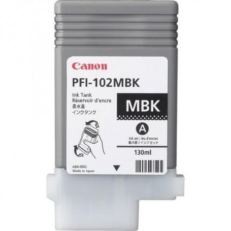 Canon PFI-102 MBK - Cartouche d'impression noir mat 130ml