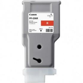 Canon PFI-206 R - Cartouche d'impression rouge 300ml