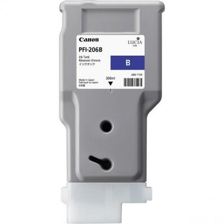 Canon PFI-206 B - Cartouche d'impression bleu 300ml