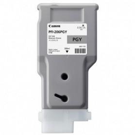 Canon PFI-206 PGY - Cartouche d'impression gris photo 300ml