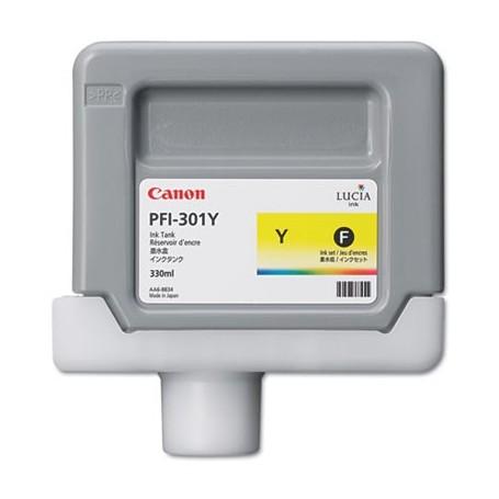 Canon PFI-301 Y - Cartouche d'impression jaune 330ml