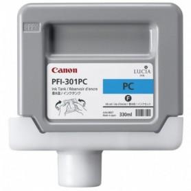 Canon PFI-301 PC - Cartouche d'impression cyan photo 330ml