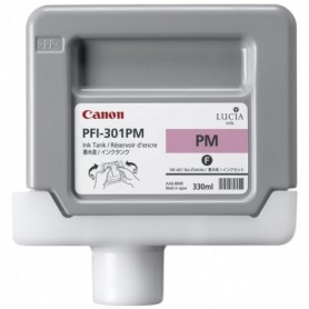 Canon PFI-301 PM - Cartouche d'impression magenta photo 330ml