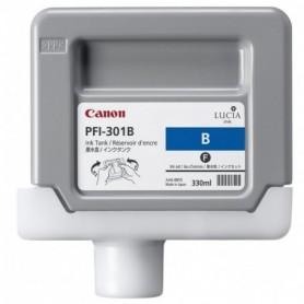 Canon PFI-301 B - Cartouche d'impression bleu 330ml