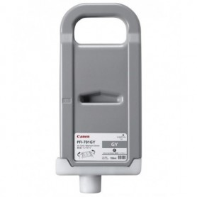 Canon PFI-701 GY - Cartouche d'impression gris chiné 700ml