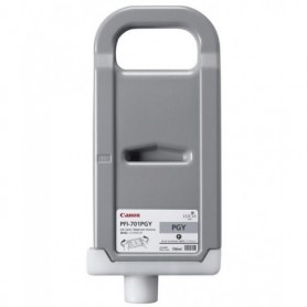 Canon PFI-701 PGY - Cartouche d'impression gris photosensible 700ml