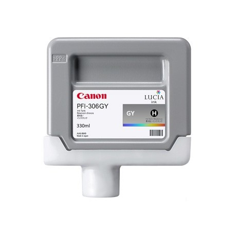 Canon PFI-306 GY - Cartouche d'impression gris chiné 330ml