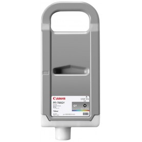 Canon PFI-706 GY - Cartouche d'impression gris chiné 700ml