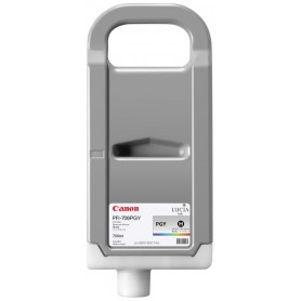 Canon PFI-706 PGY - Cartouche d'impression gris photo chiné 700ml