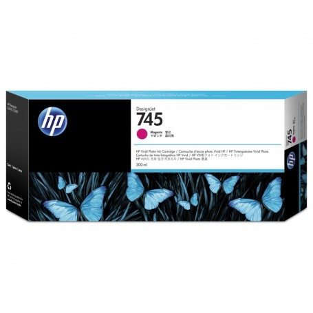 HP 745 - Cartouche d'impression magenta 300ml (F9K01A)