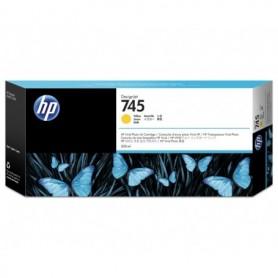 HP 745 - Cartouche d'impression jaune 300ml (F9K02A)