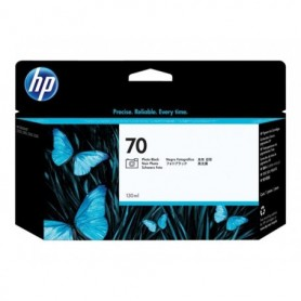 HP 70 - Cartouche d'impression photo noire 130ml (C9449A)
