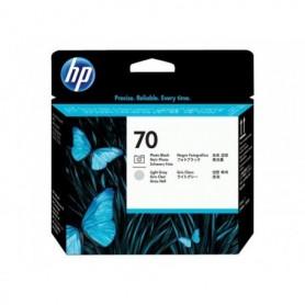 HP 70 - Tête d'impression gris clair et photo noire (C9407A)