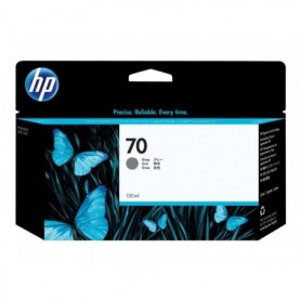 HP 70 - Cartouche d'impression gris 130ml (C9450A)