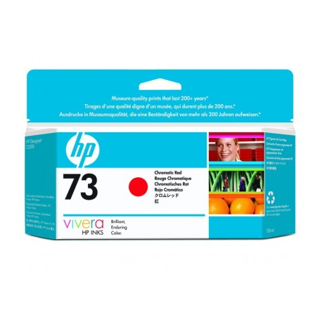 HP 73 - Cartouche d'impression rouge 130ml (CD951A)