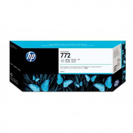 HP 772 - Cartouche d'impression gris clair 300ml (CN634A)