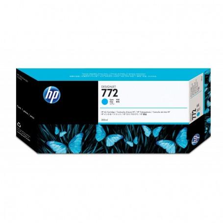 HP 772 - Cartouche d'impression cyan 300ml (CN636A)