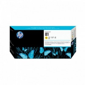 HP 81 - Tête d'impression jaune (C4953A)