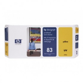 HP 83 - Tête d'impression UV jaune (C4963A)