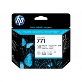HP 771 - Tête d'impression noir photo et gris clair (CE020A)