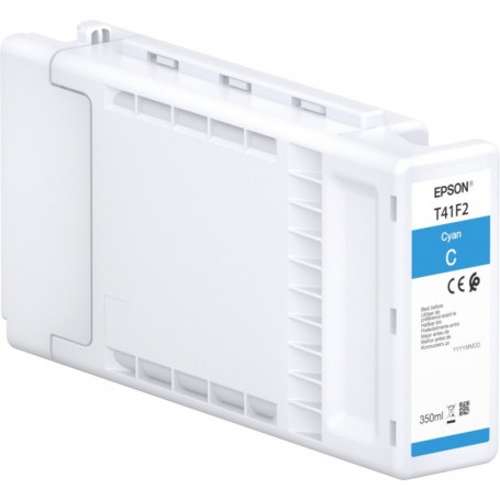 Epson T41F - Réservoir UltraChrome XD2 cyan 350ml