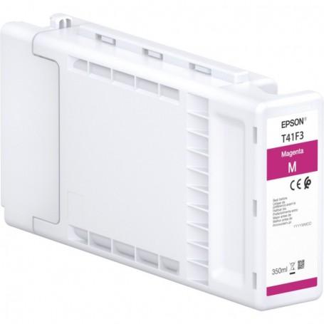 Epson T41F - Réservoir UltraChrome XD2 magenta 350ml
