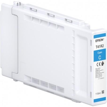 Epson T41R - Réservoir UltraChrome XD2 cyan 110ml