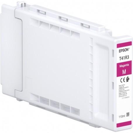 Epson T41R - Réservoir UltraChrome XD2 magenta 110ml