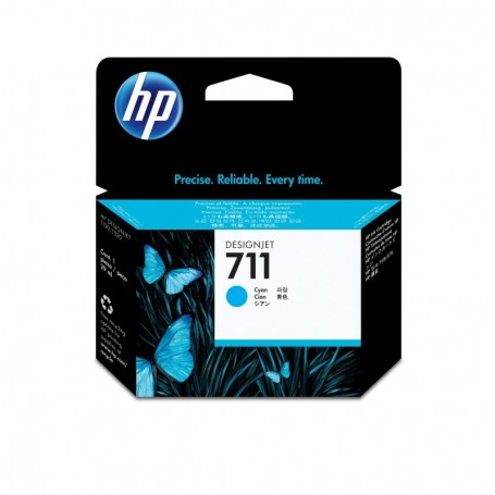 HP 711 - Cartouche d'impression cyan 29ml (CZ130A)