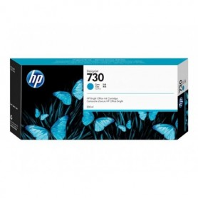 HP 730 - Cartouche d'impression cyan 300ml (P2V68A)
