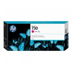 HP 730 - Cartouche d'impression magenta 300ml (P2V69A)