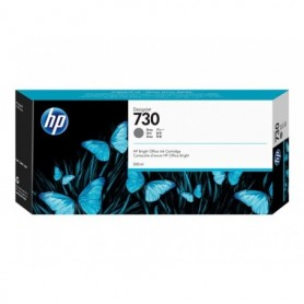 HP 730 - Cartouche d'impression gris 300ml (P2V72A)