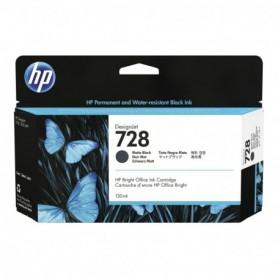 HP 728 - Cartouche d'impression noir mat 130ml (3WX25A)
