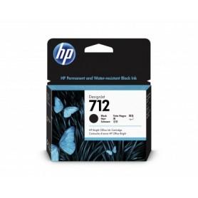 HP 712 - Cartouche d'impression noir 80ml (3ED71A)