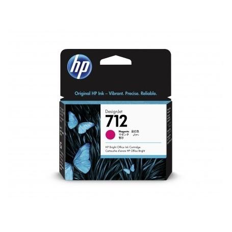 HP 712 - Cartouche d'impression magenta 29ml (3ED68A)