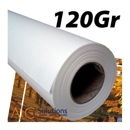 """ImagePrint Papier couché Haute Résolution 120Gr 1,118 (44"""") x 30m"""