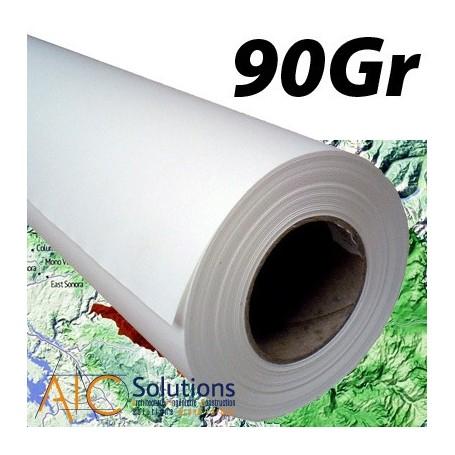 """ColorPrint HQ papier couché 90gr/m² 0,914 (36"""") x 45m"""