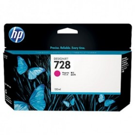 HP 728 - Cartouche d'impression magenta 130ml (F9J66A)