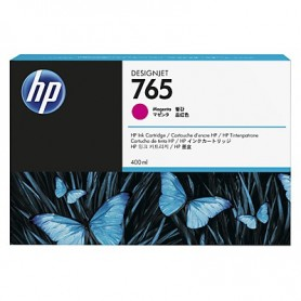 HP 765 - Cartouche d'impression magenta 400ml (F9J51A)