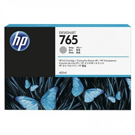 HP 765 - Cartouche d'impression gris 400ml (F9J53A)