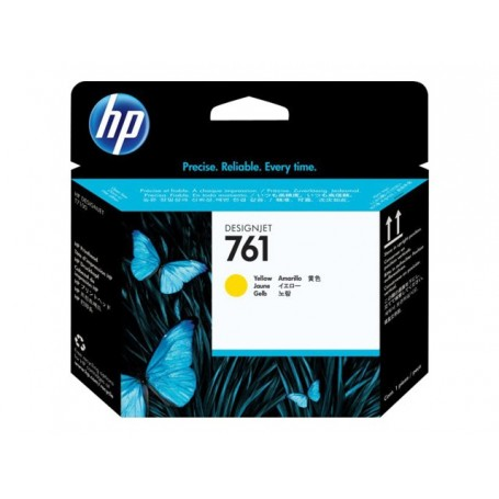 HP 761 - Tête d'impression jaune (CH645A)