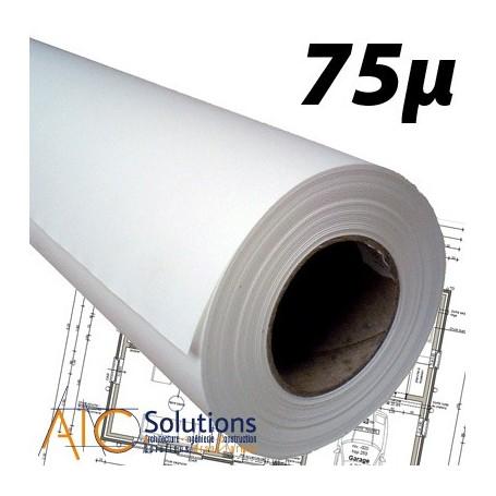 "Film polyester 75µ 0,914 (36"") x 30m"
