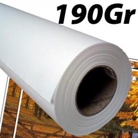 """Papier Photo Brillant microporeux 190Gr 0,914 (36"""") x 30m"""
