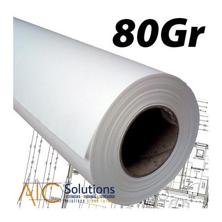 Papier PPC Draft 75/80gr 0,420 (A2) x 175m