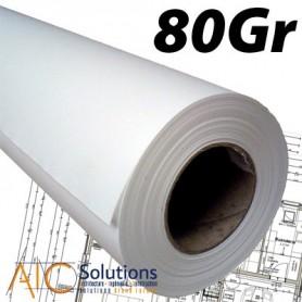 Papier PPC Draft 75/80gr 0,841 (A0) x 175m