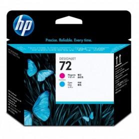 HP 72 - Tête d'impression cyan et magenta (C9383A)