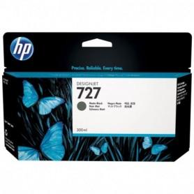 HP 727 - Cartouche d'impression noir mat 300ml (C1Q12A)