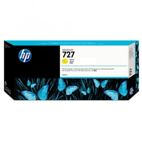 HP 727 - Cartouche d'impression jaune 300ml (F9J78A)