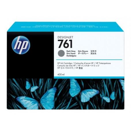 HP 761 - Cartouche d'impression gris foncé 400ml (CM996A)
